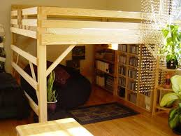 Make Wood Bunk Beds by Diy Loft Bed Plans Free Free Loft Bed Queen Diy Woodworking