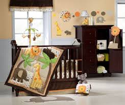 Dark Brown Changing Table by Interior Nursery Ideas Combined With Dark Brown Wooden Baby