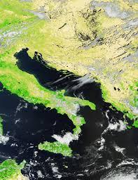 Map Of Italy And Croatia by Earth Snapshot U2022 Croatia