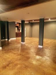 superb clean concrete basement floor painted basement floor ideas