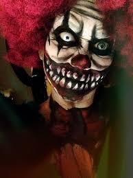scary clown halloween makeup tutorial make up pinterest