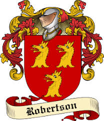 robertson family crest and history