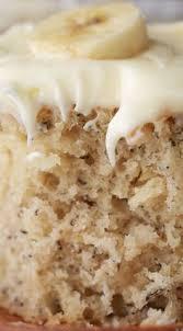 banana cake with cream cheese icing pecado sobremesas e