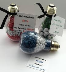 unique graduation party favors plastic light bulb graduation party favor bright future by