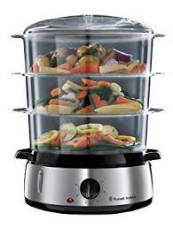 cuisiner à la vapeur hobbs cuiseur vapeur 800 w argenté amazon fr cuisine maison