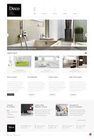website template 44182 deco interior design custom solutions