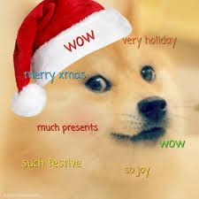 Doge Meme Christmas - wow doge much wow