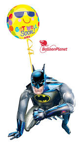 airwalker balloons delivered batman get well balloon airwalker 2 mylar balloons balloon
