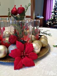 how to create a meaningful christmas centerpiece for 5