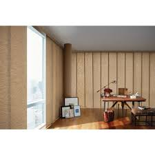 Levolor Panel Track Blinds by Hunter Douglas Blinds Window Treatments The Home Depot