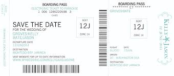 boarding pass save the date boarding pass invitations save the dates in our online store