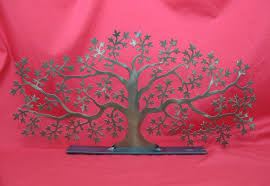 willoughby canadian metal sculptures maple tree ornament