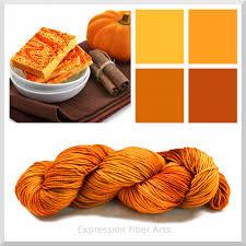 orange spice color two new colors crimson and pumpkin spice expression fiber arts