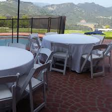Round Tables For Rent by Our Party U0026 Event Rental Gallery Big Blue Sky Party Rentals