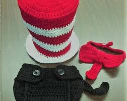 Halloween Costumes Cat Hat Knit Cat Costume Etsy