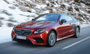 2018 mercedes benz e class coupe first ride u2013 review u2013 car and driver