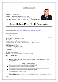 gmail resume free excel templates