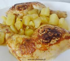 cuisiner cuisse de poulet cuisse de poulet rôtie sauce curry aux fourneaux