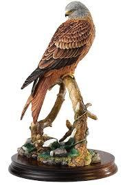 kite bird figurine bird of prey ornaments kite bird