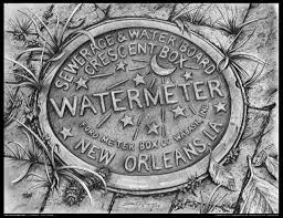 new orleans water meter necklace fleur de lir i ous new orleans water meter jewelry