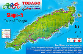 Tobago Map Canadian Cyclist Daily News
