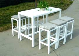 white pub table set white bistro table and chairs caracas2005 info