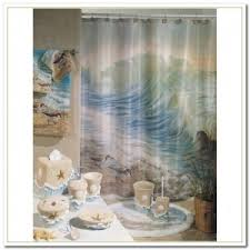 Shower Curtain Beach Theme Beach Theme Shower Curtain Interior Design
