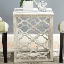 lonny white end table