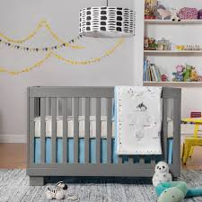 babyletto modo 3 in 1 convertible crib in grey free shipping