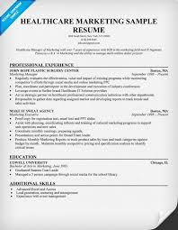 Sample Marketing Resume by Healthcare Marketing Resume Sample Http Resumecompanion Com