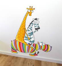 stickers animaux chambre b sticker rigolo pour chambre de bébé et enfant série golo stickers