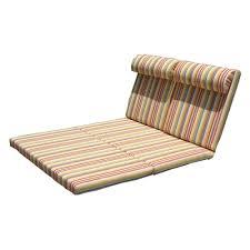 Chaise Lounge Cushions Stripe Double Chaise Lounge Cushion U2014 Prefab Homes Use Double