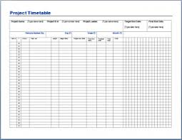 Production Schedule Template Excel Free Project Task Assignment Template Sle Format