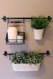 hanging plant burlap u0026 bangs