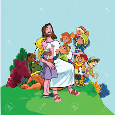 jesus and children clip art clipart collection