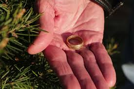 lost wedding ring returned to grieving husband