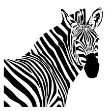 zebra stencil 1 halloween pinterest stenciling animal