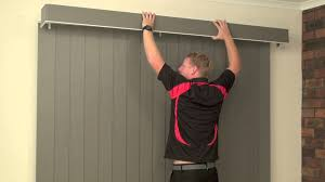 How To Make A Pelmet Valance How To Install A Face Fit Pelmet On A Vertical Blind Youtube