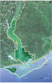 St George Island Florida Map by Anerrmap Png