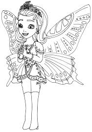 princess sofia coloring pages butterfly costume coloringstar