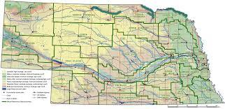 Platte River Map Nebraska River Map