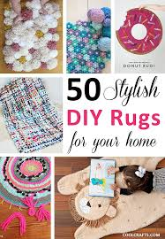 do it yourself home decor projects 50 stylish diy rug ideas for your home
