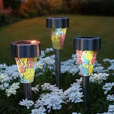 decorative solar garden lights solar garden light set dragonfly