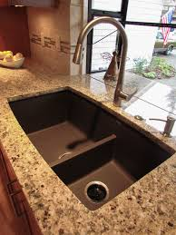 Brown Kitchen Sink Traditional Kitchen Jpg