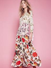 floral maxi dress shop who what wear