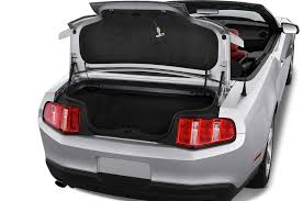 mustang convertible trunk 2010 ford mustang gt premium convertible ford convertible sport