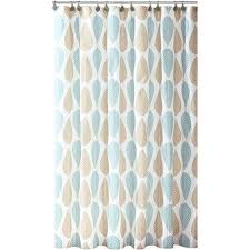 Teal And Brown Shower Curtain Bath