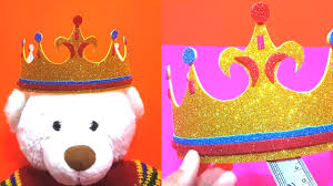 how to make crown l kids learning videos l nursery learning l poem