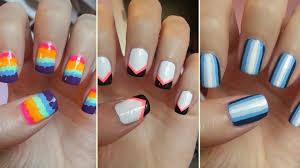 cute natural nail designs images nail art designs