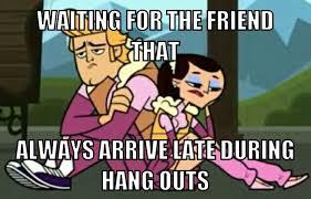 Meme Waiting - waiting for a friend meme by sweet cinnamon23114 on deviantart